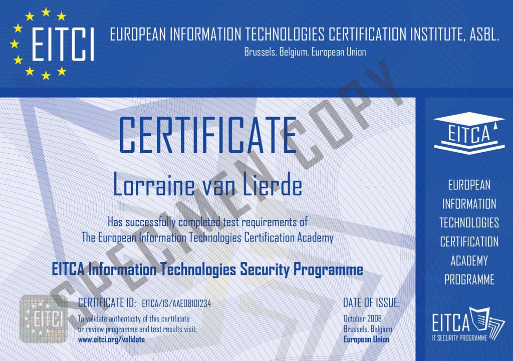 Eitcais Information Security Academy Eitca Academy