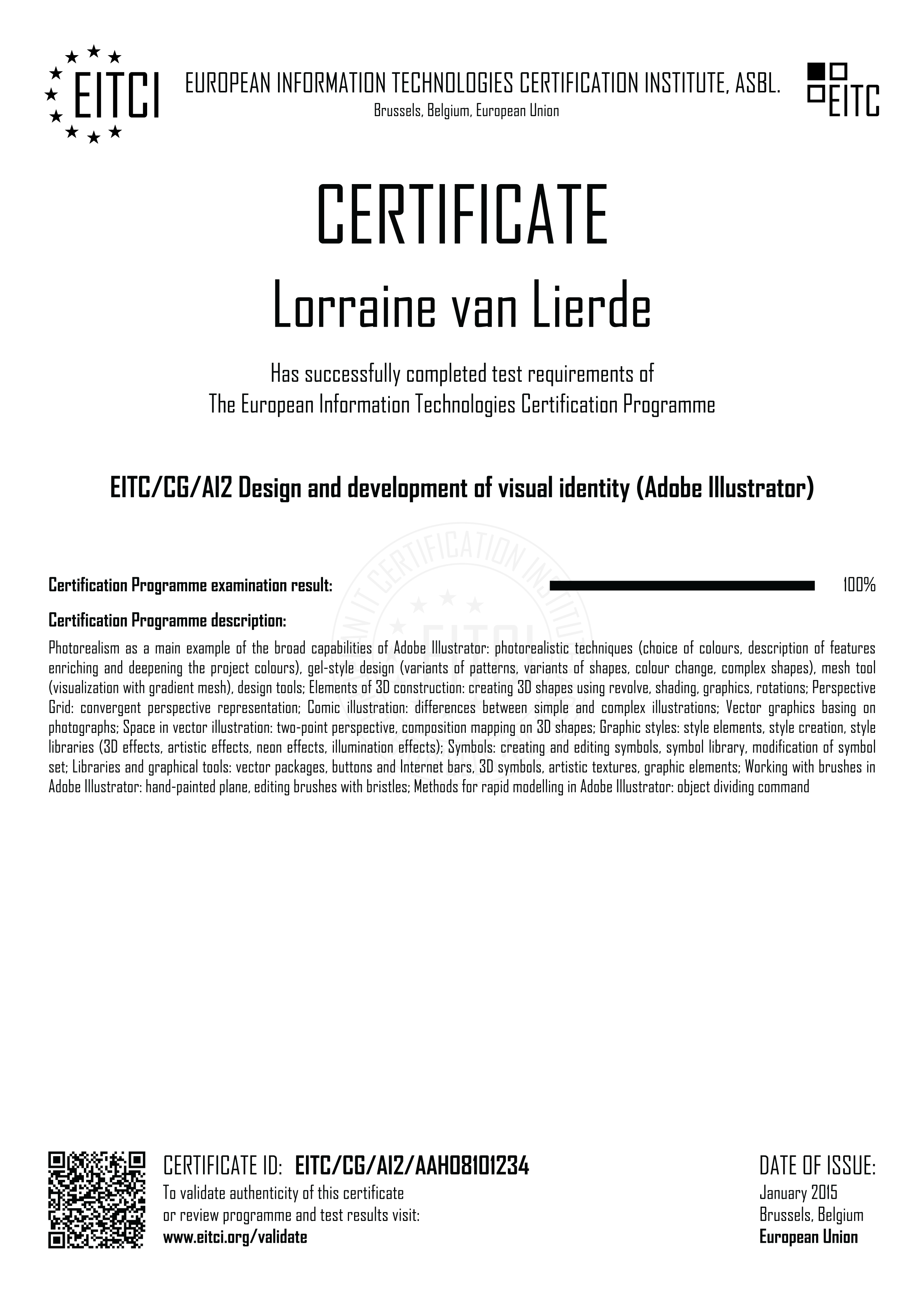 Eitccgai2 Design And Development Of Visual Identity Adobe