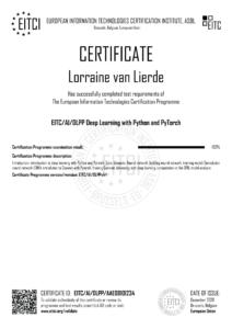 EITC-AI-DLPP-AAE08101234-Suppl