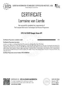 EITC-AI-GVAPI-AAE08101234-Suppl